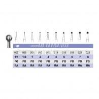 Carbide bur RA #1/4,1/2,1,2,3,4,5,6,7,8