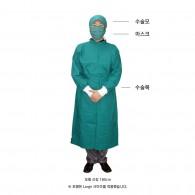 수술복 (가운만)