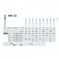 Tungsten Carbide Burs RA #HM33