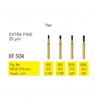 Gold Diamond Burs (Extra Fine) #830, 830L