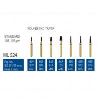 Gold Diamond Burs (Standard) #849, 855