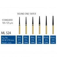 Gold Diamond Burs (Standard) #856L, 856XL