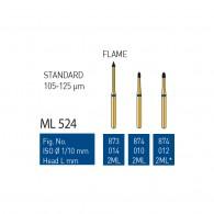 Gold Diamond Burs (Standard) #873, 874