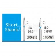 Diamond Bur Short shank (Standard) #FO-S21