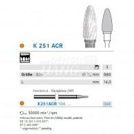 Ceramic Denture Bur #K251ACR-060