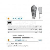 Denture Bur HP #H77ACR-060