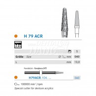 Denture Bur HP #H79ACR-040
